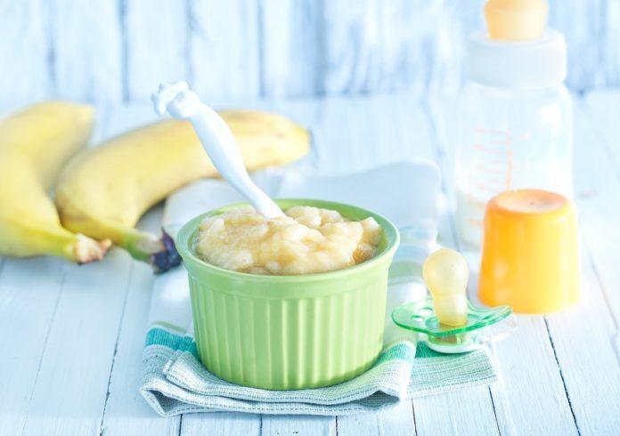банановое пюре для грудничка