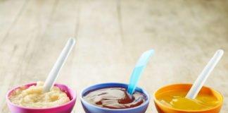 детское пюре для первого прикорма при искусственном вскармливании