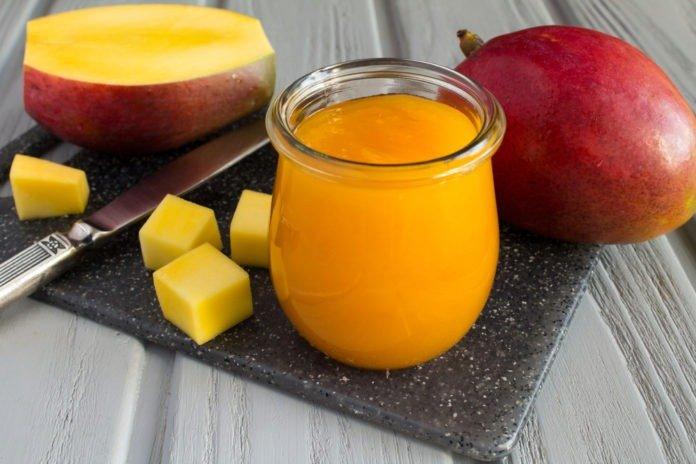 Пюре из манго для грудничка