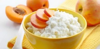 Рисовое пюре с абрикосом и яблоком для грудничка
