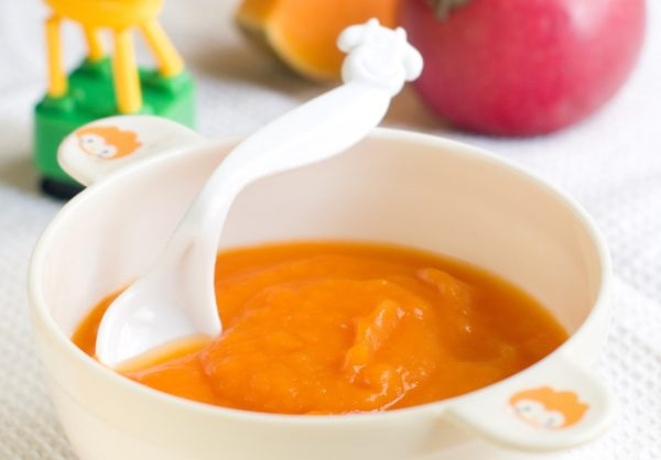 Яблочно-тыквенное пюре для грудничка