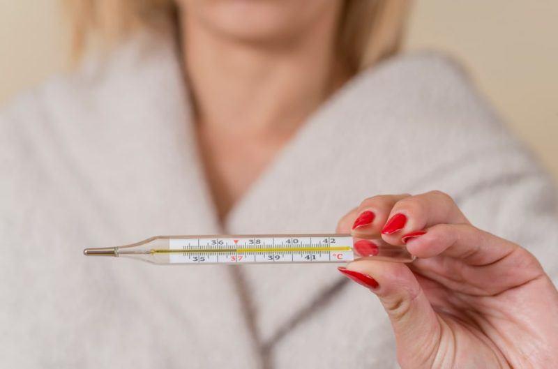 Температура тела у кормящей матери норма
