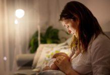 Как отучить от грудного вскармливания ночью