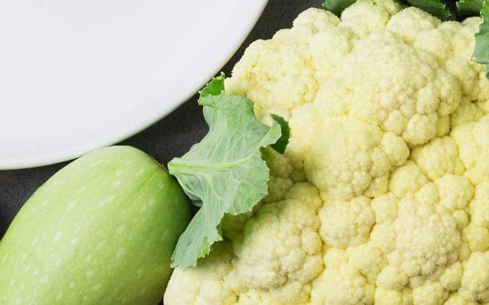 Суп-пюре из кабачка и цветной капусты