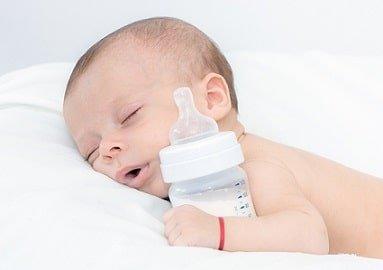 Рацион питания ребенка на искусственном вскармливании